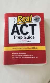 ACT Prep Guide 3rd Edition ~ The official ACT Test Prep Guide