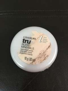 Covergirl trublend Loose Mineral Powder in Light