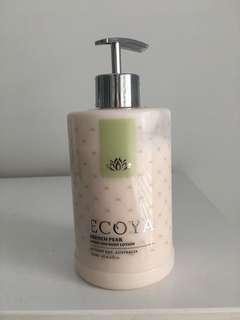 Ecoya French Pear hand and body lotion