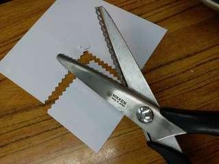 日本 齒邊較剪