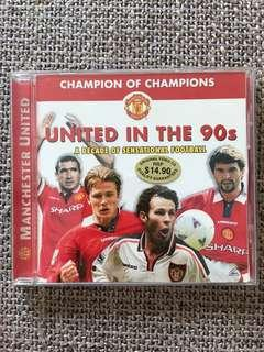 United in the 90s Vintage VCD
