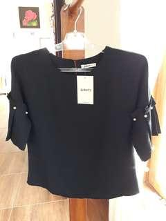 Blouse Import Black