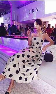 Preorder Drea Chong polka dot dress
