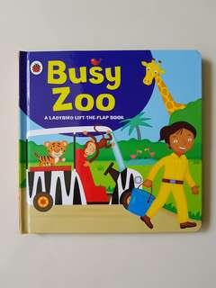 Ladybird Lift the flap board book - Busy Zoo