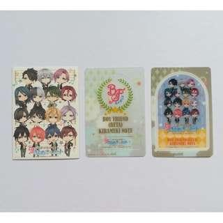 Boy Friend (Beta) - Kirameki Note / Notebook Clear Bookmark