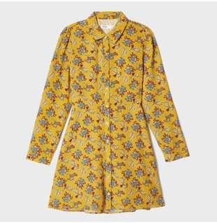 Dark Yellow Dresses (MIXXO from korea) #MY1212