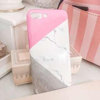 MP Accessories iPhone 8 or 7 plus case • very cute pink white gray marble design • almost new