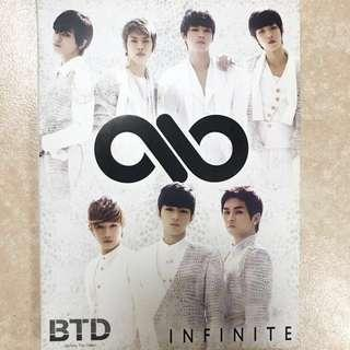 INFINITE - BTD (Before The Dawn) Japanese Album with Photocard