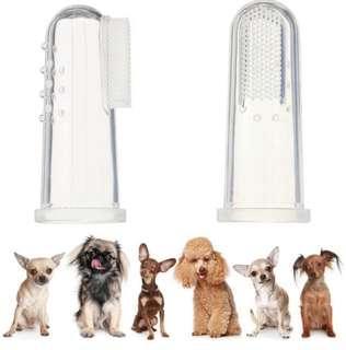 (Instock) Dog Soft Toothbrush