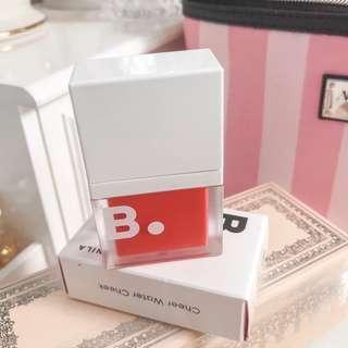 SALE • Banila co cheer water cheek • blush and lip tint • RD01 girlish red • with box • b by banila korean makeup • kbeauty korean beauty kpop