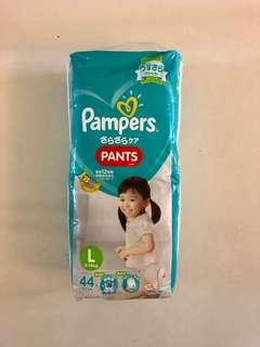 Pampers baby dry L tape diapers (9-14kg)
