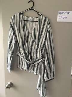 Tie up shirt