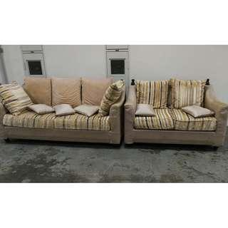 3+2 fabric covers sofas