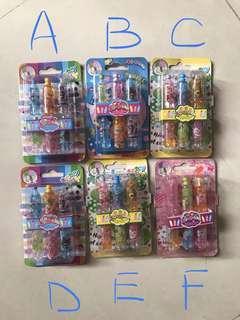 (全新包郵)可愛造型筆筒(每盒$15)