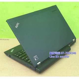 🚚 長效電池 全新120SSD LENOVO X230 i5-3230M 4G 12吋 聖發二手筆電 另有IPS$8500