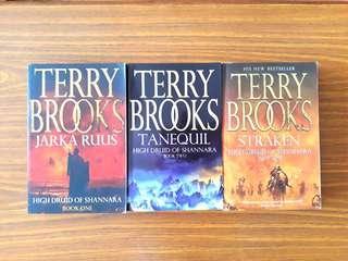 3 for $15: By Terry Brooks: High Druid of Shannara: Jarka Ruus (Book 1), Tanequil (Book 2), Straken (Book 3)