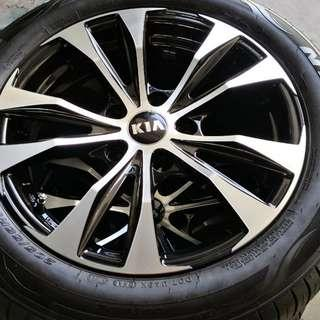 "New Kia Cerato 16"" Rims and Tyres"