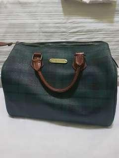 Ralph Lauren Green Plaid Bag (ORIGINAL)
