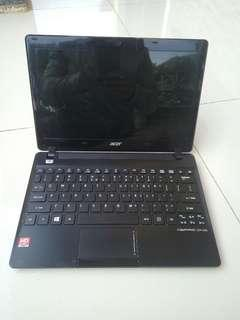 Notebook Acer Aspire 725 2GB 320GB 12inch