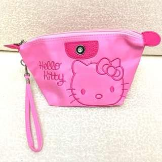 Hello Kitty 刺繡化妝包