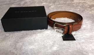 Burberry Leather Men's Belt Brown