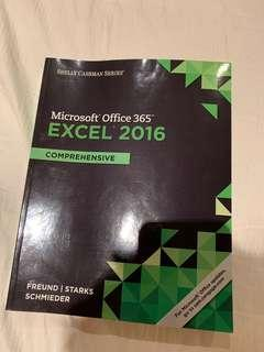 Excel 2016 Comprehensive shelly cashman series