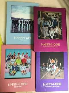 Wanna One Album with CDs