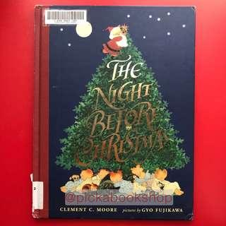 [Hardcover] The Night Before Christmas - Clement C. Moore , Illustrated by Gyo Fujikawa (Preloved)