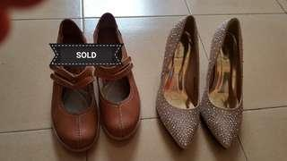 New Dinner shoes (Carlo Rino) and preloved casual shoes(Scholl) SOLD #MY1212