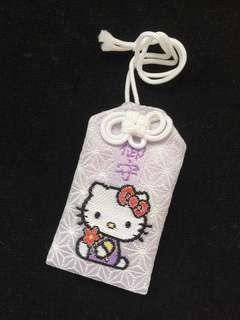 全新 日本北海道神宮Hello Kitty紫色御守 平安符$80