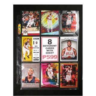 Dwyane Wade 8 Different Basketball Cards NBA Finals MVP