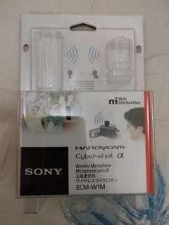Sony wireless microphone ECM-W1M