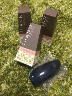 (全新new) 泰國 THANN Rice Grain Soap Bar (with rice scrub and charcoal) 純米天然米糠皂 100g