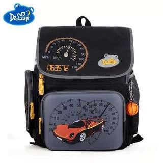 Delune School Backpack with Doll for Boys
