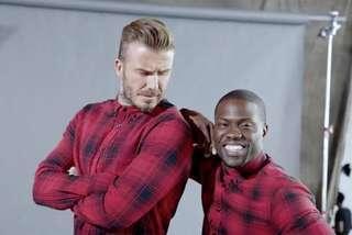 H&M x David Beckham Plaid Shirt