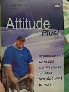 NEW ORIGINAL BOOK ATTITUDE PLUS
