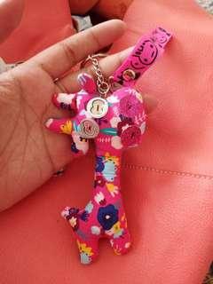 Gantungan kunci handmade import
