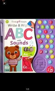ABC sounds book NEW