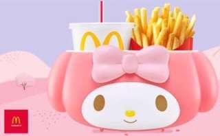 預訂McDonald melody 麥當勞