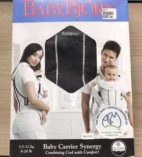 Baby Bjorn Carrier Synergy Black Mesh