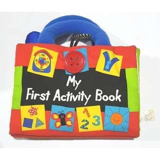 Activity soft books