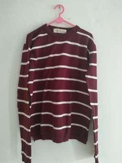 Preloved Sweater Knitwear Sweatshirt Rubylicious stripe stripes