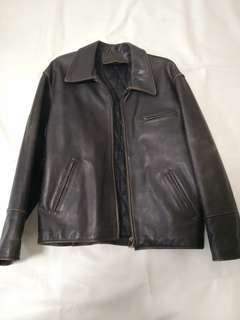Leather Jacket厚水牛皮 皮褸