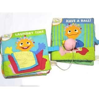Activity soft cloth books
