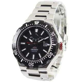 🚚 Orient M-Force Delta Collection Automatic Power Reserve SEL07002B0 EL07002B Men's Watch