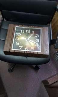 80年代可報時鐘