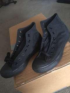 Black Converse Hightops