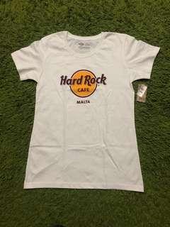 Hard Rock Cafe Malta Ladies T Shirt
