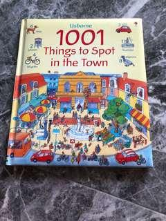Usborne 1001 Things to spot in the town