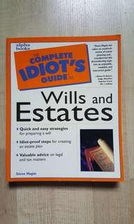 Complete Idiot's Guide - Wills and Estates